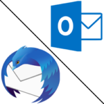 outlook & thunderbird logo
